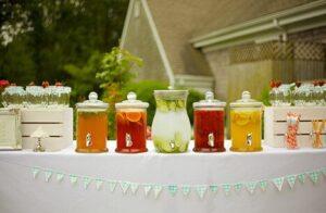 Barras de bebidas para bodas