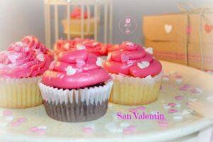 Cupcakes de nutella y almendra