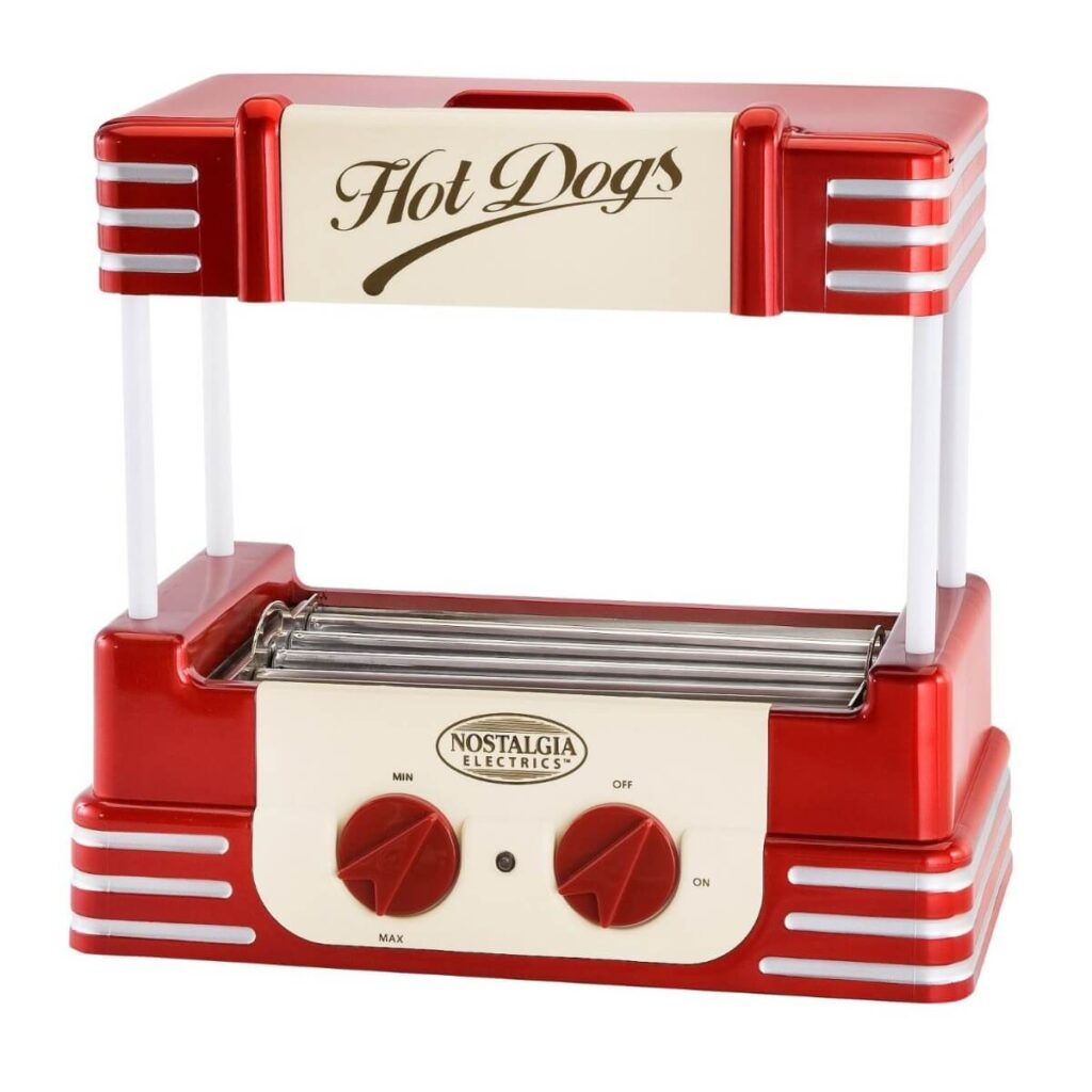Maquina de Hot Dogs Retro