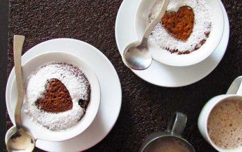 Bizcocho a la taza desayuno de domingos