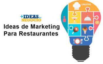 Tres ideas de marketing de restaurantes para atraer nuevos clientes