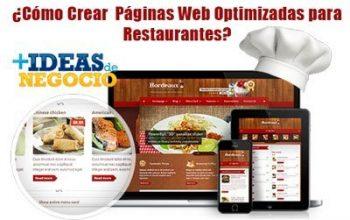 Errores de diseño y optimización de las páginas Web de restaurantes