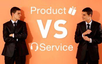 ¿Tus Ingresos estan centrados en Servicios o Productos?