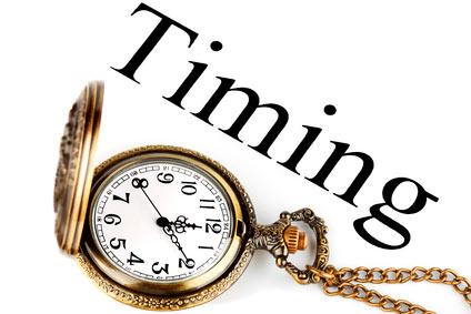 Que es el Timing en Las Acciones