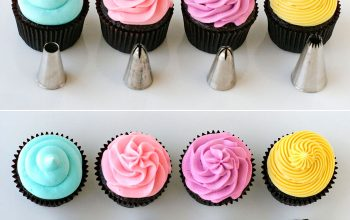 Create Numerous Icing Borders Using One Icing Tip