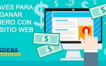 5 claves para ganar dinero con un sitio web