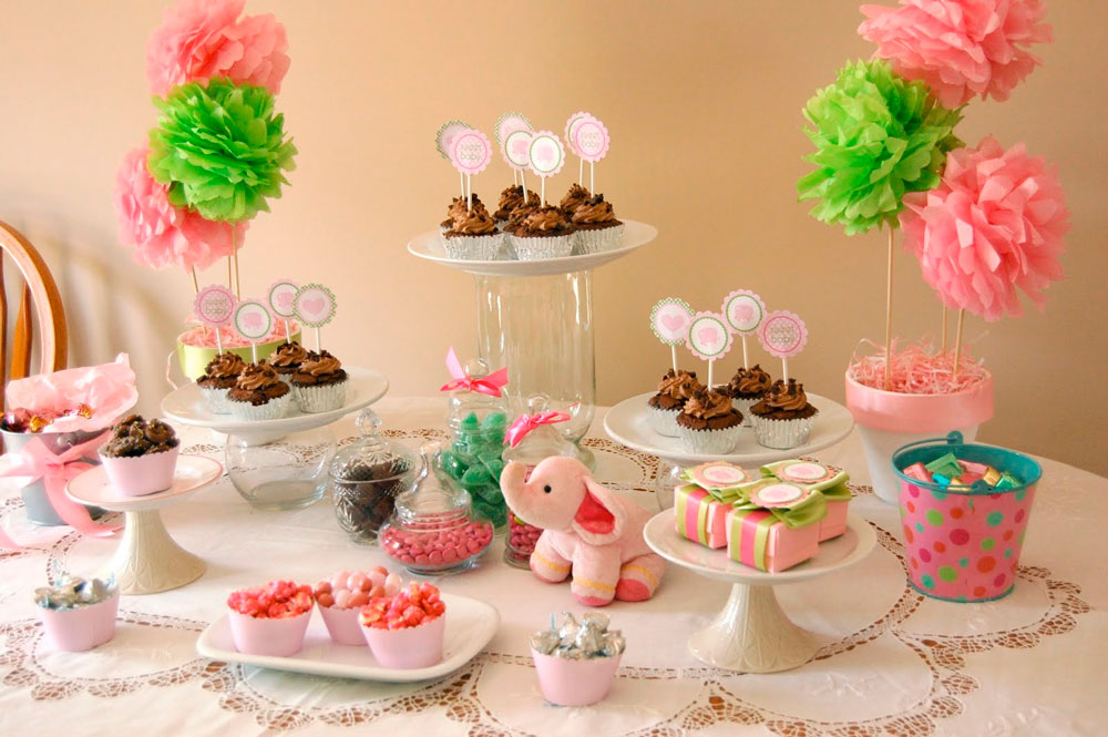 Baby Shower Food Table Elephant