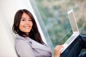 asistente virtual desde casa