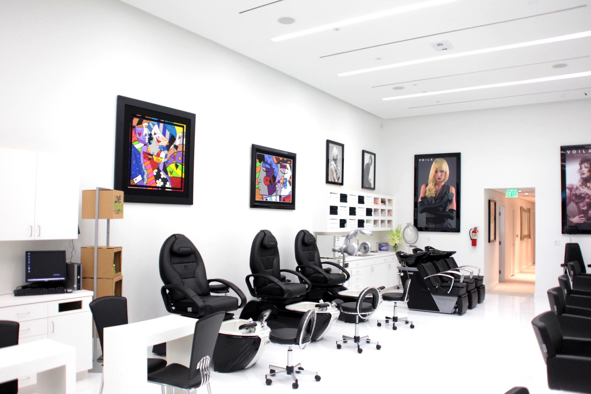 Consejos para abrir un sal n de belleza - Ideas para decorar una peluqueria ...