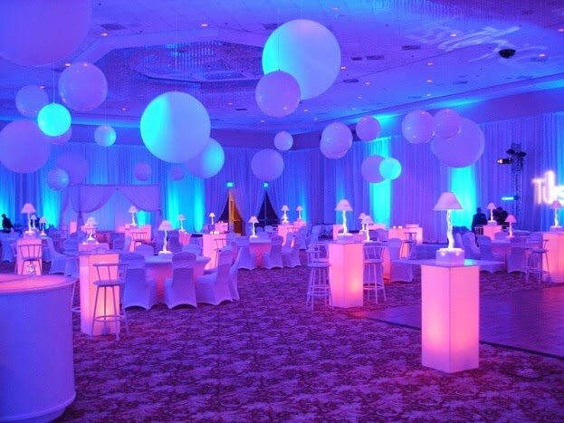 Globos luminosos para fiestas ideas de negocio rentables - Globos para eventos ...