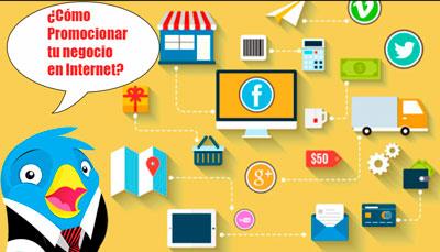 como promocionar negocios en internet