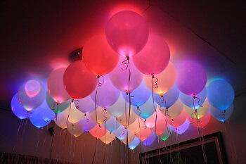 globos luminosos para bodas
