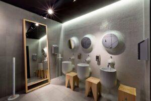 Baños decorativos para restaurante