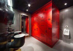 baños decorativos restaurantes