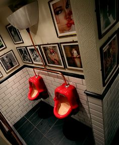 decorative bathrooms restaurant