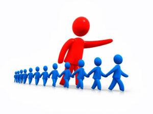 Líder del movimento para formar su negocio rentable