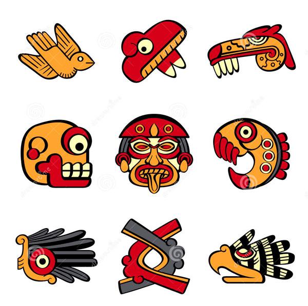 Simbolos Aztecas – Diseños Para Distintos Tipos de Negocios