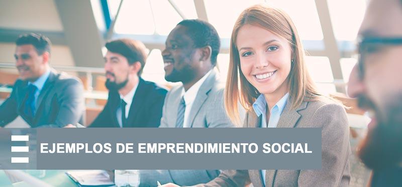 ejemplos de emprendimiento social
