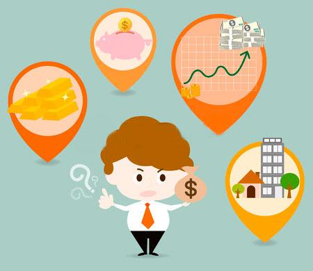 tipos de inversión que requieren muy poco dinero